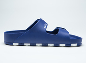 ccilu-HORIZON CHECK SANDAL MENS【BLU】の画像3