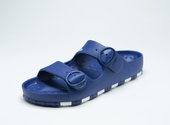ccilu-HORIZON CHECK SANDAL MENS【BLU】の画像1