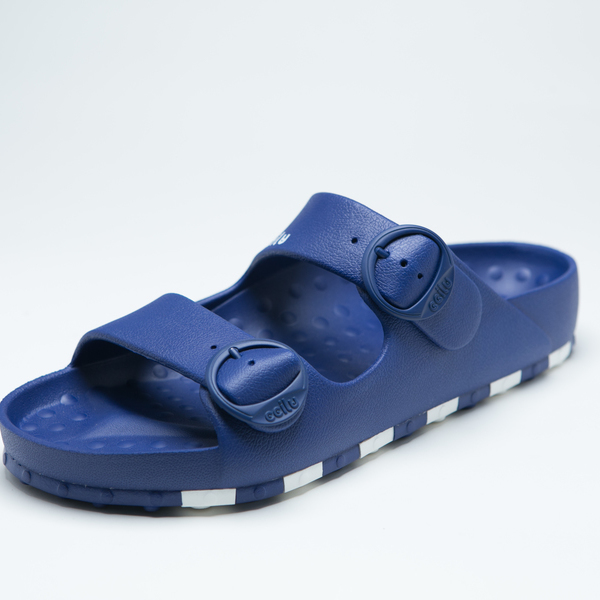 ccilu-HORIZON CHECK SANDAL MENS【BLU】