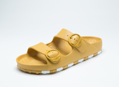ccilu-HORIZON CHECK SANDAL WOMENS【YEL】の画像1