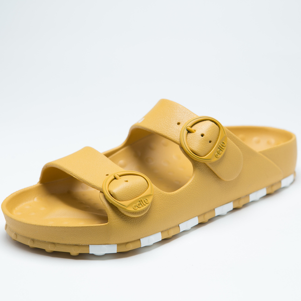 ccilu-HORIZON CHECK SANDAL WOMENS【YEL】