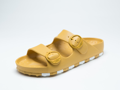 ccilu-HORIZON CHECK SANDAL MENS【YEL】
