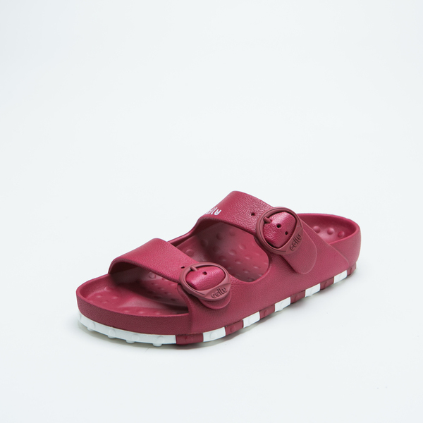 ccilu-HORIZON CHECK SANDAL WOMENS【R/W】