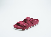 ccilu-HORIZON CHECK SANDAL MENS【RED】の画像1