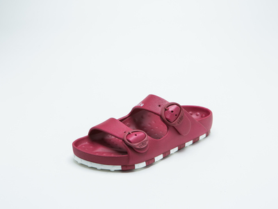 ccilu-HORIZON CHECK SANDAL MENS【RED】